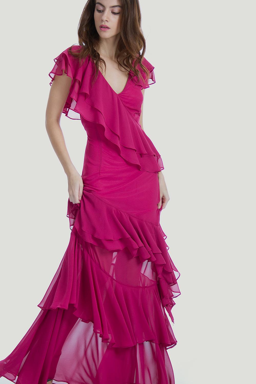 ΜΑΞΙ ΦΟΡΕΜΑ ΜΕ ΒΟΛΑΝ - Φορέματα - Καλοκαίρι - Προσφορές - E-Shop ... f3298916ab5