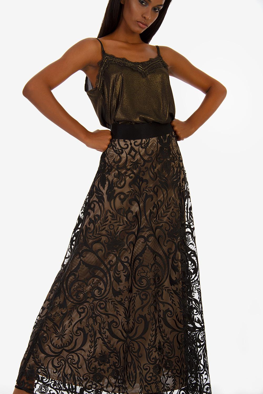 ΜΠΛΟΥΖΑ ΜΕ ΔΑΝΤΕΛΑ - Μπλούζες - Μπλούζες - E-Shop  f546de7218e