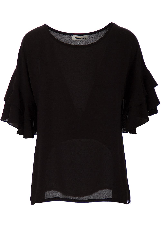002f677d4e10 ΜΠΛΟΥΖΑ ΜΕ ΒΟΛΑΝ ΜΑΝΙΚΙΑ - Μπλούζες - Μπλούζες - E-Shop