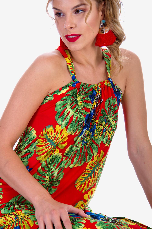 7d0d40709d11 ΦΛΟΡΑΛ ΜΑΞΙ ΦΟΡΕΜΑ - Φορέματα - Καλοκαίρι - Προσφορές - E-Shop ...