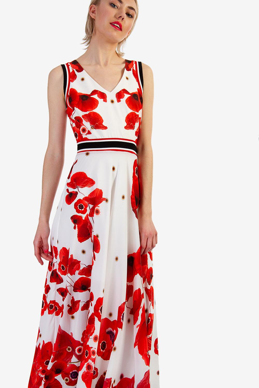 157435915e8 ΦΛΟΡΑΛ ΜΑΞΙ ΦΟΡΕΜΑ - Μάξι - Φορέματα - E-Shop   Matis Fashion