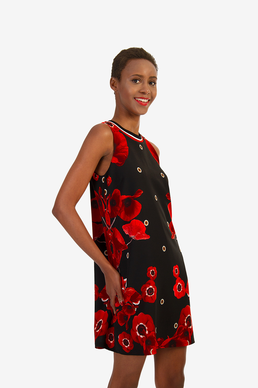 872853f93847 ΜΙΝΙ ΦΛΟΡΑΛ ΦΟΡΕΜΑ - Μίνι - Φορέματα - E-Shop