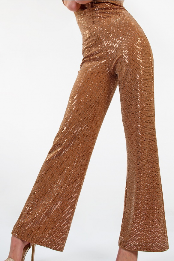PANTALONE WITH SEQUINS