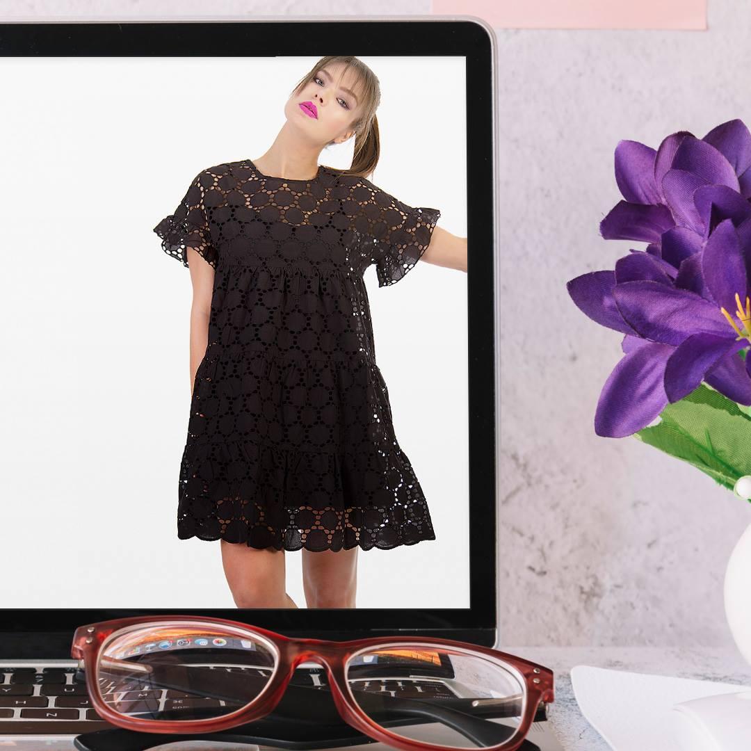 b1326cc4ba49 Η οversized μπλούζα γίνεται το απόλυτο casual chic φόρεμα για τη δουλειά!  Με άνετη γραμμή που ταιριάζει σε όλες τις σιλουέτες